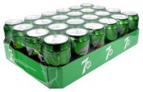 24 x 7-up cans 330ml