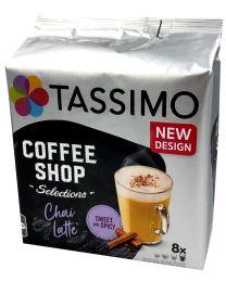 Tassimo cups Chai Latte
